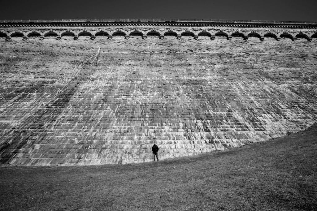 dam from below